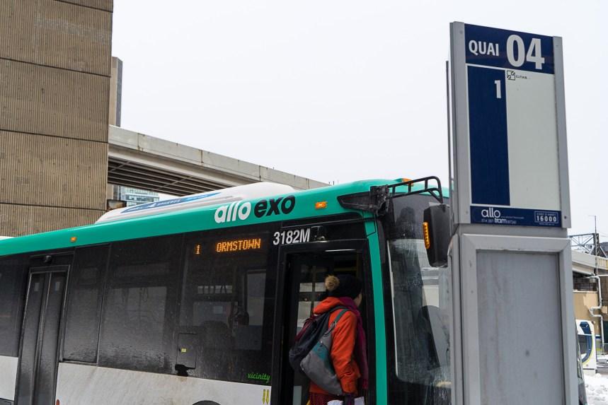 Des informations en temps réel sur tous les autobus d'exo d'ici la fin de l'année