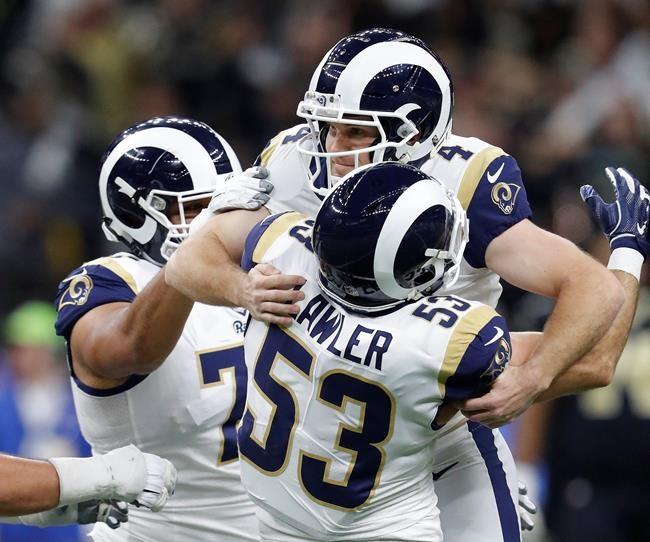 Les Rams battent les Saints 26-23 en prolongation
