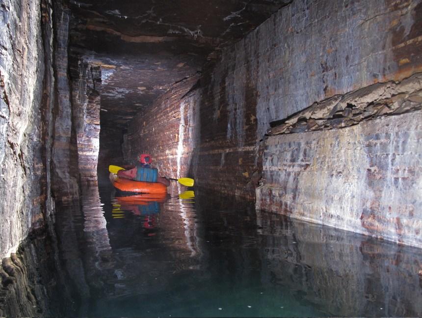 Pas d'accès touristique pour les nouvelles galeries de la caverne de Saint-Léonard
