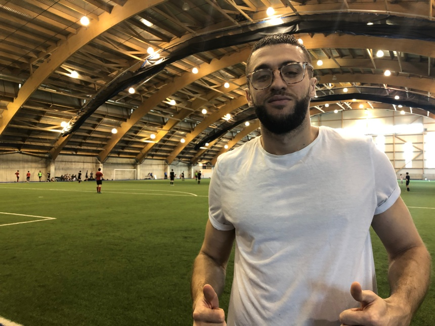 Chakib Hocine trouve sa place en Première Ligue Canadienne de soccer