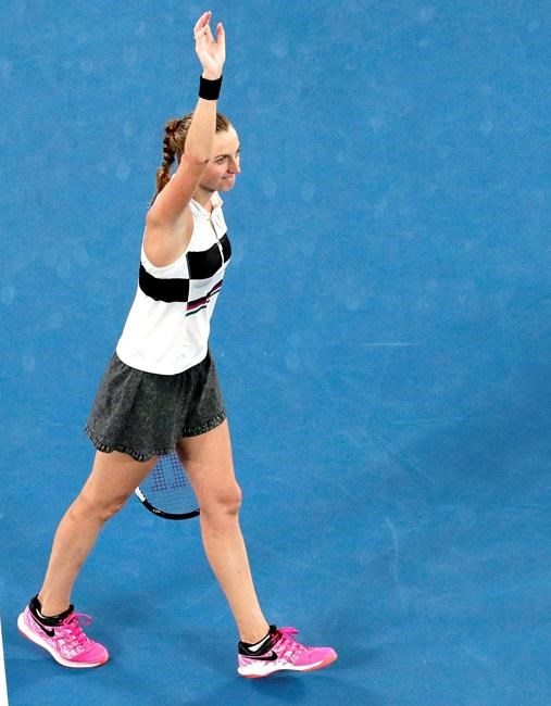 Melbourne: Kvitova atteint la finale