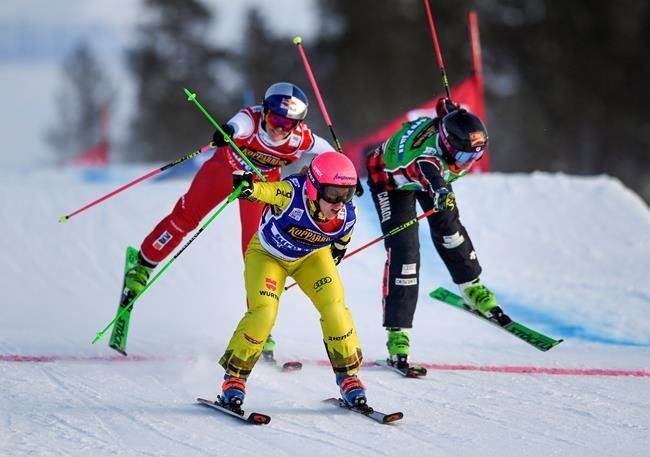 Ski cross: l'argent pour Marielle Thompson