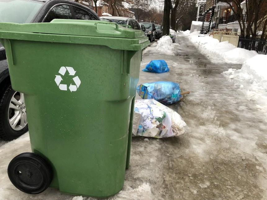 Il manque de bacs de recyclage dans Rosemont