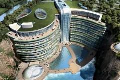 Un luxueux hôtel souterrain ouvre ses portes en Chine