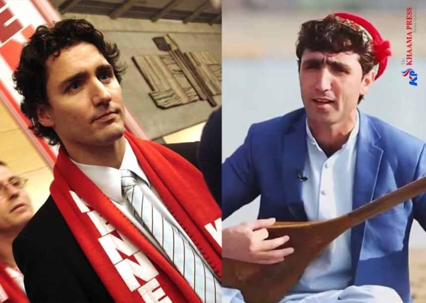 Justin Trudeau a un sosie afghan