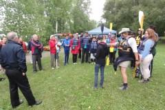 Hommage au kayakiste disparu