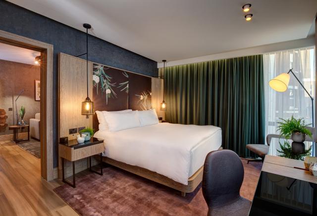 À Londres, une suite hôtelière entièrement végane