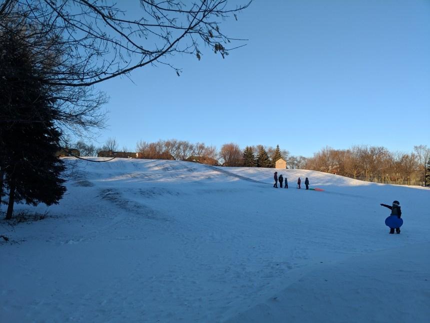 Inauguration des animations d'hiver du parc Grovehill à Lachine