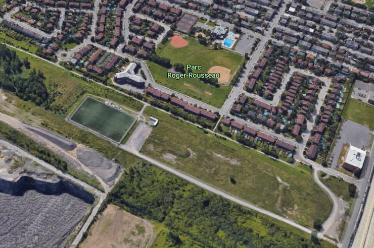 Projet d'agrandissement du parc Roger-Rousseau