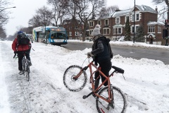 Les bons (et les moins bons) coups du réseau cyclable hivernal montréalais