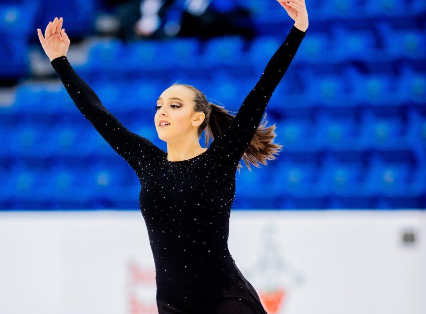 La patineuse Rosalie Vincent toujours dans le top 10 canadien