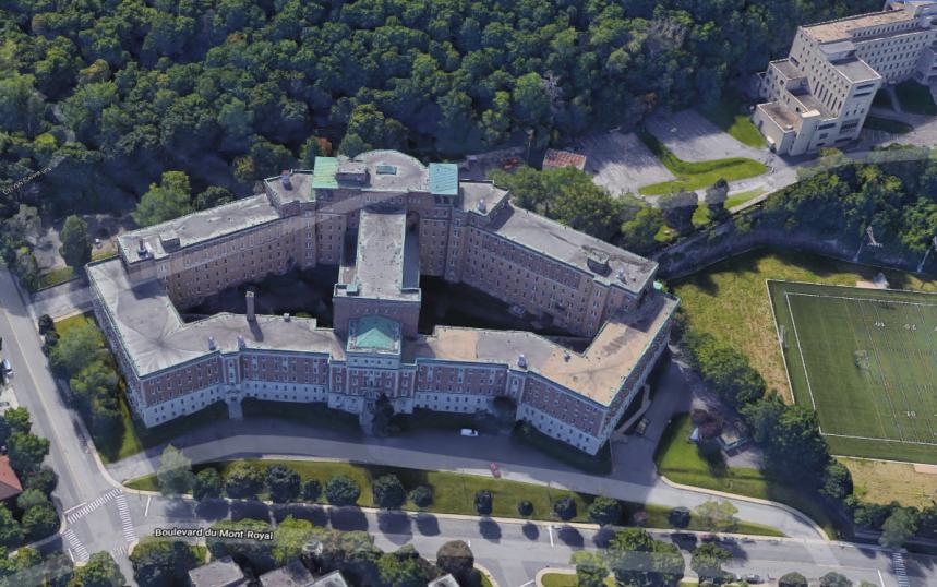 La conversion de l'ancien couvent du 1420 Mont-Royal en condos de luxe va bon train