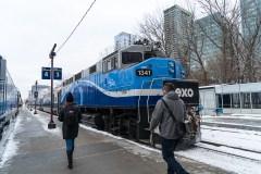 Travaux du REM: des changements d'horaire en mars pour les trains de banlieue