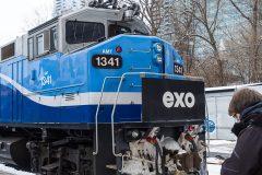 Oléoduc Gaslink: le train de banlieue encore interrompu pour la journée, mardi