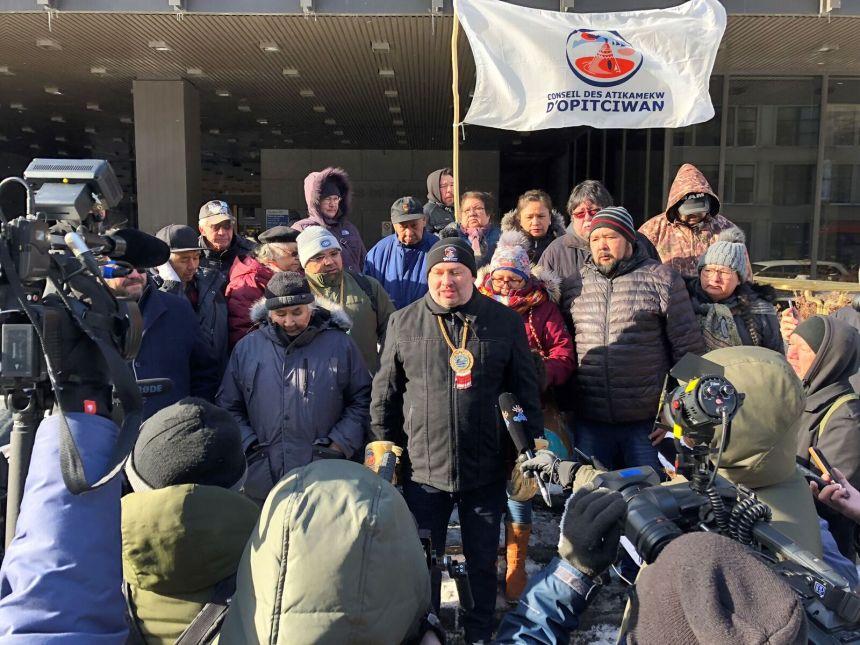 La nation d'Opitciwan entreprend des démarches légales contre Québec et Ottawa