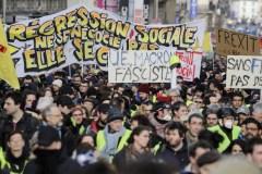 France: 15e manifestation de gilets jaunes