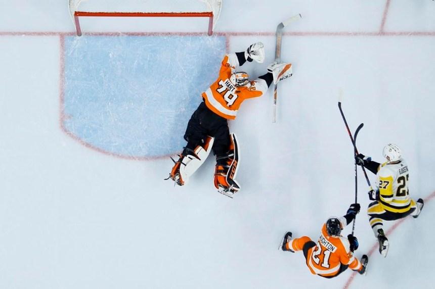Matt Murray, Sidney Crosby et les Penguins malmènent les Flyers 4-1