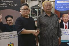 Portraits et coupes de cheveux: la folie Kim-Trump s'empare du Vietnam