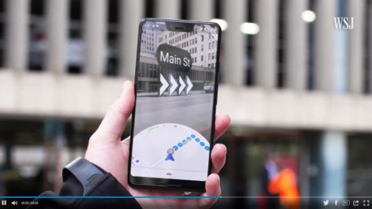 Une nouvelle version de Google Maps en réalité augmentée bientôt déployée