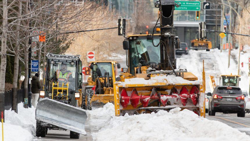Montréal veut déneiger l'entrée des logements des personnes à mobilité réduite