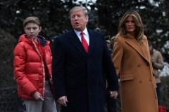 Trump préfère voir son fils jouer au soccer qu'au football