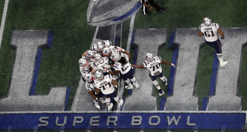 Les Patriots remportent le 53e Super Bowl
