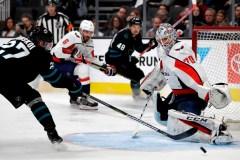 Ovechkin marque un 39e but et les Capitals battent les Sharks 5-1