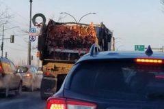 Un camion de Saminax suscite une nouvelle fois la grogne