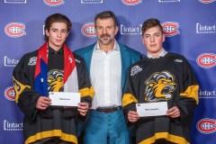 Trois athlètes récompensés par le CH
