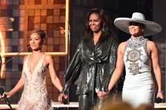 Michelle Obama, invitée surprise sur la scène des Grammys