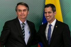 Au Brésil, Guaido s'engage à rentrer au Venezuela «malgré les menaces»