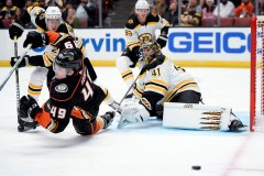 Les Bruins blanchissent les Ducks 3-0 et signent un quatrième gain de suite
