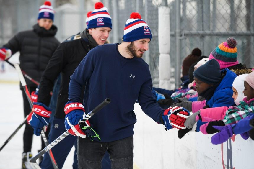 Les Canadiens de Montréal visitent LaSalle