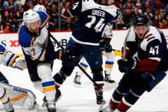 Les Blues battent l'Avalanche 3-0 et gagnent un neuvième match de suite