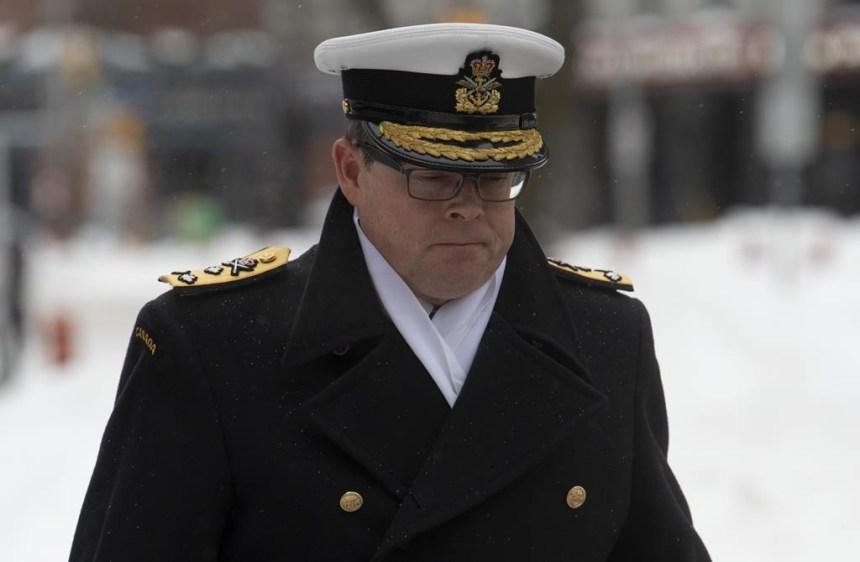 Les avocats du vice-amiral Norman veulent consulter les courriels de Trudeau