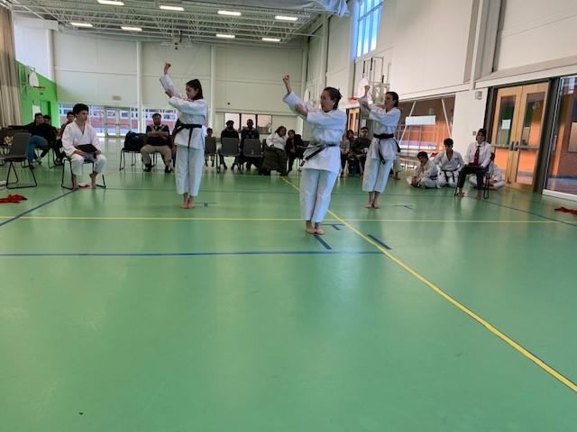 Importante compétition de karaté à L'Île-des-Soeurs