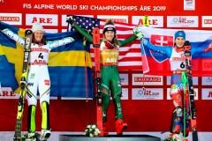 Shiffrin remporte le slalom pour la 4e fois de suite aux Mondiaux; St-Germain 6e