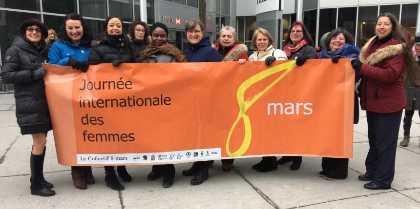 Le Collectif 8 mars veut recentrer cette journée vers les droits des femmes