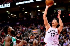 Siakim et les Raptors signent un gain convaincant de 118-95 face aux Celtics