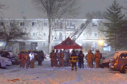 Incendie à Lachine: une trentaine de personnes évacuées