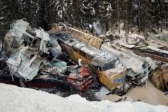 Le train qui a déraillé en Colombie-Britannique a bougé seul, dit le BST