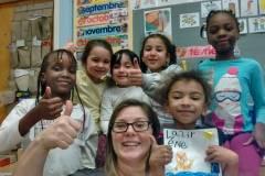Une classe de maternelle laSalloise a créé un conte