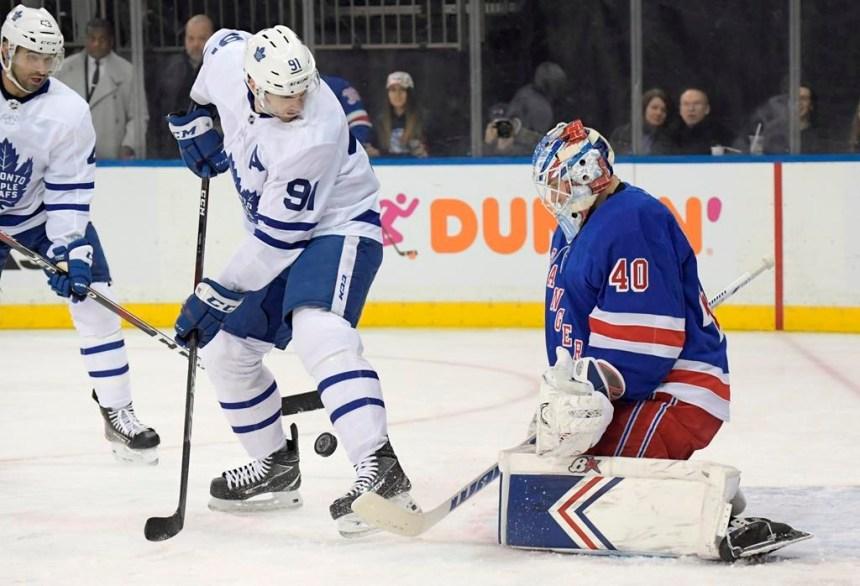 Georgiev est miraculeux contre les Maple Leafs et les Rangers l'emportent 4-1