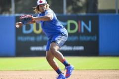 Vladimir Guerrero fils impressionne dès le premier jour au camp des Blue Jays