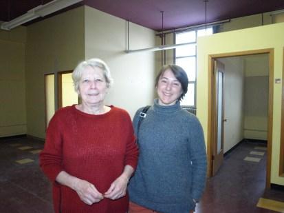 Anne Thibault et Françoise Bellemare, respectivement présidente du conseil d'administration et coordinatrice du RTCPP.
