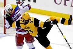 Malkin et Letang marquent 2 buts chacun et les Penguins battent les Rangers 6-5