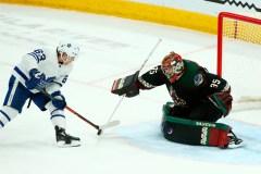 Kuemper repousse 21 tirs et les Coyotes blanchissent les Maple Leafs 2-0