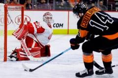 Konecny marque en prolongation et les Flyers viennent à bout des Red Wings 6-5