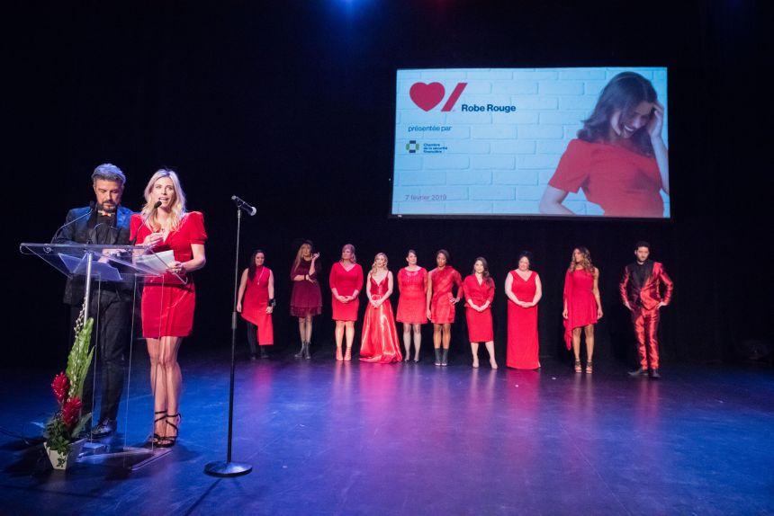 Robe Rouge Montréal: s'habiller pour la cause