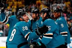 Pavelski dénoue l'impasse et les Sharks l'emportent 3-2 devant les Canucks